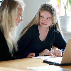 Maja fortæller om sine erfaringer med at have en mentor